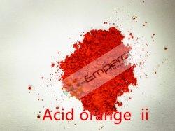 Ácido de excelente qualidade Orange II ácido corante laranja 7 de corante de Madeira, corante de tecido