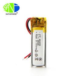 Mini più piccola batteria popolare Dtp401030 3.7V 80mAh del Li-Polimero con il prezzo di fattore