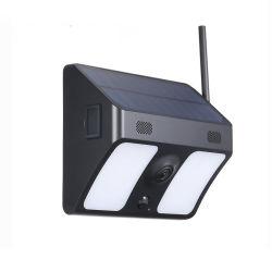 Solarbidirektionale Audioradioapparat PIR IP67 im Freien wasserdichte IPcctv-WeitwinkelÜberwachungskamera