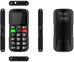 """1,77"""" 3G старший телефон с двумя SIM-Sos и большие кнопки и 500 Мач от китайского завода _W2 (3G)"""