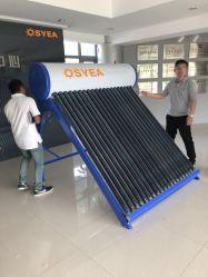 Osyea ha pressurizzato non il riscaldatore di acqua solare spaccato della valvola elettronica di pressione