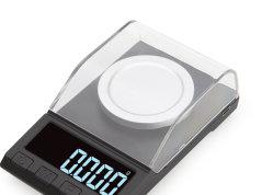 Equilíbrio Quilates High-Precision 0,001g jóias Balança electrónica