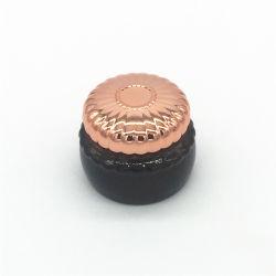 プラスチックが付いているブラウンカスタム100g Bahkoorの香のガラス瓶