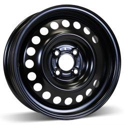 15X6 (4-100) عجلة من الفولاذ الشتوي الأسود