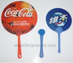 プラスチックファンを広告する安い夏のギフトの多彩な印刷