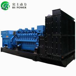 السعر التنافسي محرك MTU بقدرة 1100 كيلوفولت أمبير مجموعة مولدات الديزل للبيع