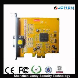 La compression H. 264 Realtime 4CH/8CH TV out audio/vidéo DVR Card PCI-E