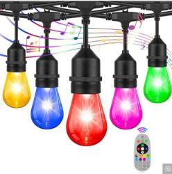 Hot Sale Outdoor étanche de Noël cadeaux décoratives chaîne solaire ampoule LED