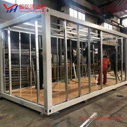 Сэндвич панели плоские Pack контейнер дом сегменте панельного домостроения в стальной дом транспортировочный контейнер рамы