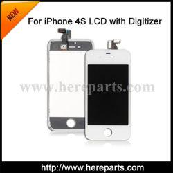 Pour l'iPhone 4S l'écran LCD en verre avec écran tactile