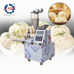 機械を作る自動詰められた蒸気を発したパンメーカーMomo Baozi