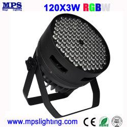 NENNWERT Wäsche-Licht 120*3W RGBW hohe Leistung DJ-LED für Stadiums-Beleuchtung und Disco-Beleuchtung