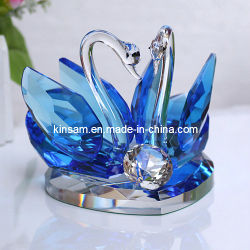 결혼 선물용 Crystal Glass Swans 제조업체