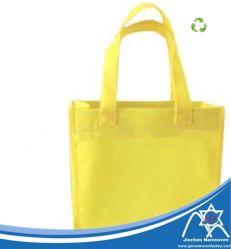 De PP coloridos Spun-Bonded Nonwoven Fabric Bag Logotipo com