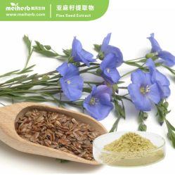 Les graines de lin de la poudre d'huile lignanes extrait de l'extrait de lin de lin