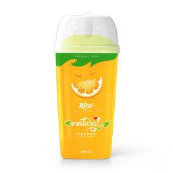 360ml de PP de garrafa pet sumo de laranja fresco Drink-Healthy Bebida