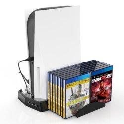 PS5 het Laden van de Huid van het Controlemechanisme van de console Toebehoren van het Videospelletje van de Plaat van de Houwer van de Dekking van het Geval van de Lader van het Dok van de Post de Dokkende