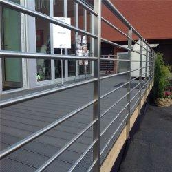 Su uso en casa terraza al aire libre de 8 mm de Acero Inoxidable Varilla sólida Bar barandillas