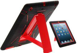 iPadの空気のためのロボットKickstandのハイブリッドケース