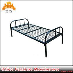Metallrahmen-Stahl verwendetes einzelnes Bett für Dubai