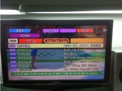 New Updated Songs Monthlyの新しいArirang DVD Karaoke Machine