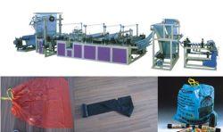 Sacchetto di tiraggio delle Poli-Stringhe su rullo che fa macchina per i sacchetti di immondizia (DC-CS1000)