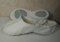 Novas chegadas de tecido de algodão de Balé sapatos de dança para todas as idades