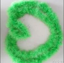 당 훈장 녹색 푹신한 터어키 기털 싼 Marabou 왕뱀