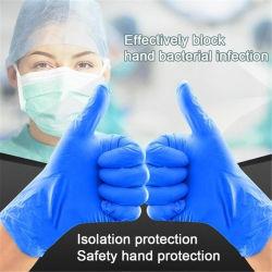 Trabalho descartáveis limpeza de algodão de protecção industrial Guantes Exame sem pó de borracha de PVC Látex Segurança Vinil Nitrilo luvas de mão