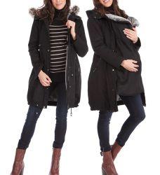 La mujer chaqueta Softshell batas de maternidad Babywearing ropa2 Compradores