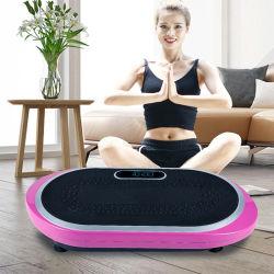 Salle de gym /home/multifonction Vibro Fit/plate-forme de vibrations/perte de poids /home /Crazy Fit Massage Fitness/Vibration de l'exercice de la plaque d'alimentation Waver