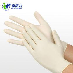 Lattice dei guanti a gettare dell'esame medico
