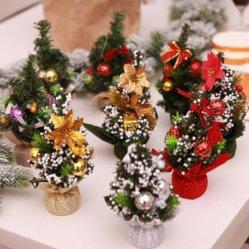 Regali di festa scrivania ornamenti di decorazione Mini artigianato albero di Natale
