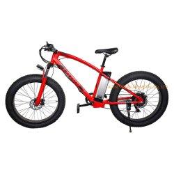 Gordura eléctrico Tiro Mountain Bike China Factory 48V Bateria de Mais qualidade de 26 polegadas a cores personalizadas alterável grossista aceitável de bicicletas de montanha para os homens adultos