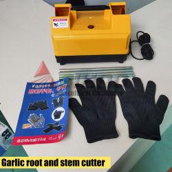 Taglio di radice capo di /Garlic /Garlic dell'aglio di uso dell'azienda agricola di rimozione fresca della coda che separa rimuovendo macchina
