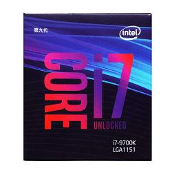 Memorie da tavolino dell'azienda di trasformazione 8 di memoria I7-9700K dell'Intel fino 3.6 al CPU del tavolo sbloccato Turbo di serie LGA1151 300 95W del gigahertz