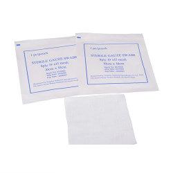 100% algodão fabricado na China Alta cirúrgica médicos descartáveis gaze absorvente Cotonetes/Gaze/Esponja de gaze
