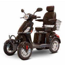 48V 20ah/60V 20ah 납산 배터리가 장착된 전동 4륜 이동식 스쿠터, 엘더용 전기 4륜 미니 카, 전동식 장애인용 차량 비활성화