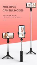 라이트 카메라가 있는 휴대폰 스탠드 폰 폰 Shenzhen 휴대폰 전화기 스탠드 LED 조명 비디오용 전화기 받침대