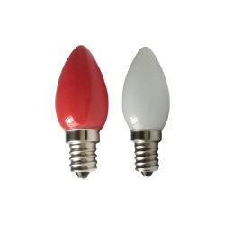 مصباح الكريسماس LED موديل E12 من Holiday C7 مع مصباح خزفي
