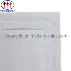 Documento bianco della versione della pergamina sottile di uscita dell'aria, Grammage totale 100g, griglia di 7# Quadrate, singolo rivestimento laterale del PE & rivestimento dell'olio siliconico