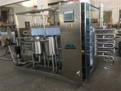 El yogur de leche UHT de esterilización equipo Tubular Pasteurizer Flash