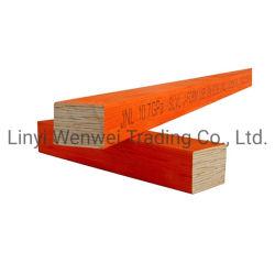 قشرة من الخشب المنقوع بالهيكل المعالج