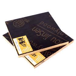 Encofrado de hormigón Film enfrenta pegamento WBP 17 mm Pino Total Core encofrados de madera contrachapada de