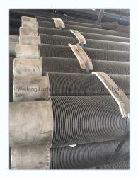 خدمة درجة حرارة عالية أنبوب ملمع حلزوني من الفولاذ اللوي ASTM A335 P15 P21 P22 P23 P91