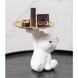 3D Bear Resin Mold Epoxy صب قوالب الحلية الحرف يدويًا