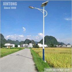 Zweites Erzeugung alles in einer integrierten im Freien LED-Solarstraßen-Garten-Straßen-Ausgangslampe mit Sonnenkollektor 40W 50W 60W