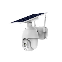 1080P Mini4g angeschaltene WiFi PTZ sicherheits-Abdeckung-Solarkamera der Kamera-im Freien H. 265 bidirektionale Audiosolar