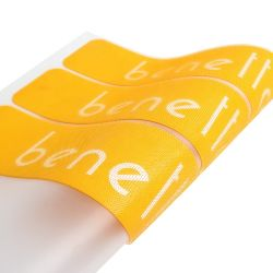 T shirts criador de etiquetas de logotipo próprio personalizadas de silicone de impressão por transferência térmica de alta densidade com pontos da escova