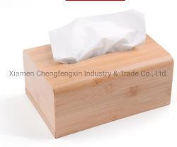 Hight Quality Bamboo Tissue Box
